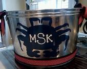 Crab Beverage Bucket