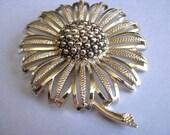 Vintage Brooch - Sarah Cov Brooch - Gold Plated Brooch