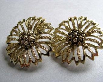 Sarah Coventry - Clipon Earrings - Vintage Earrings
