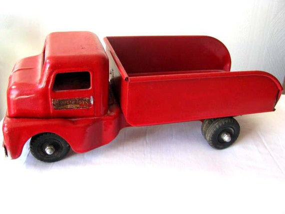 1950s Structo Toys - Red Pickup Truck - Male Vintage