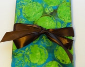 Summertime Fresh Batik Trifold Journal