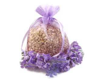 Lilac Corn Cob Cellulose Fiber Aroma Sachet