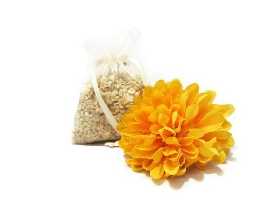 Vanilla Sugar Corn Cob Cellulose Fiber Aroma Sachet