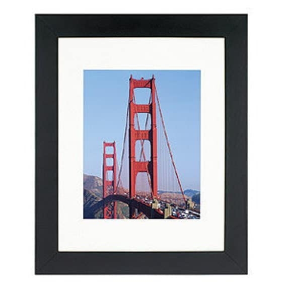 11x14 frame archival mat uv protection glass