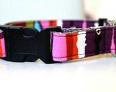 Custom Made Adjustable Dog Collar with Choice of Accessory