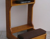Prie Dieu or  Prayer Desk Style Kneeler on ETSY