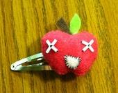 Crazed Apple Barrette