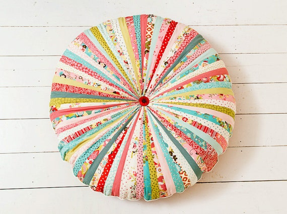RESERVED FOR KAREN - Large Whimsical Floor Cushion - Payment 2 of 2