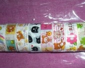 Rilakkuma deco tape set 10 small deco tapes
