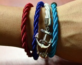 Simple Rope Bracelet with Anchor