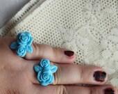 Disney Princess - Snow White - Blue Rose Ring