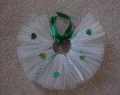 St. Patrick's Day Tutu Set Preemie to 3 months