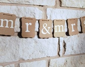 Wedding Banner Decoration  MR & MRS Bride and Groom Banner Great for Engagement Party, Wedding Shower, or Wedding