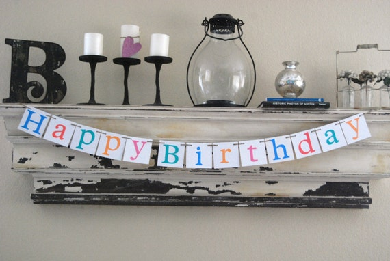 Happy Birthday Banner Decoration for Birthday Party or photo shoot (Any Age)