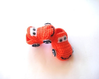 baby shoes, Orange Cars Baby Booties, baby slippers, baby shoes, crochet baby booties 0-12 months baby, crochet baby shoes, baby socks