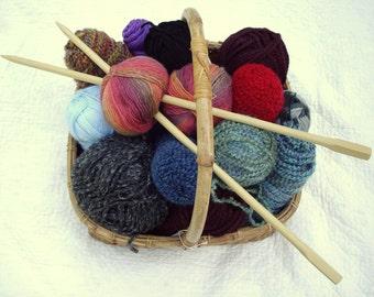 Wooden Knitting Needles size 17