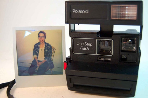TESTED Polaroid One Step Flash Instant Photo Camera Takes Impossible Film