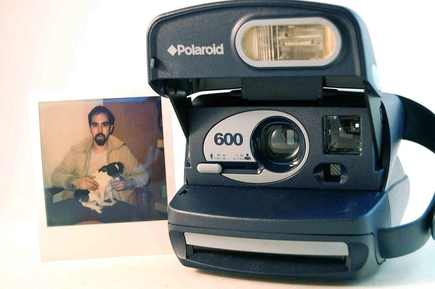 TESTED Polaroid 600 Instant Film Camera uses Impossible