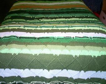Green Afghan