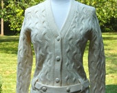 Vintage Wool Sweater Made in British Crown Colony of Hong Kong by Joyce