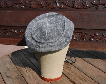 Kangol Gray Tam Hat Beret Made in England