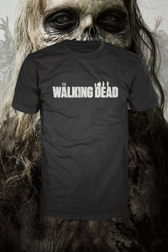 The Walking Dead, zombie t-shirt, american apparel,   Also available on crewnecks and hoodies