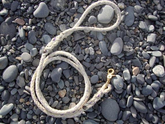 Repurposed Fishing Rope Dog Leash