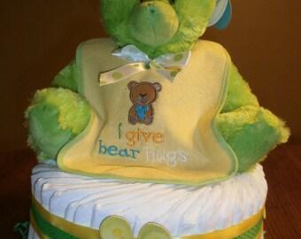 1-Tier Baby Diaper Cake