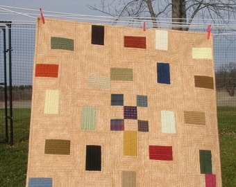 Flannel Quilt : Color Blocks