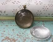 Custom Photograph Glass Pendant Necklace
