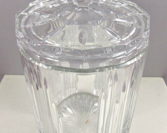 Fine Crystal Champagne Bucket- Vintage Champagne Bucket