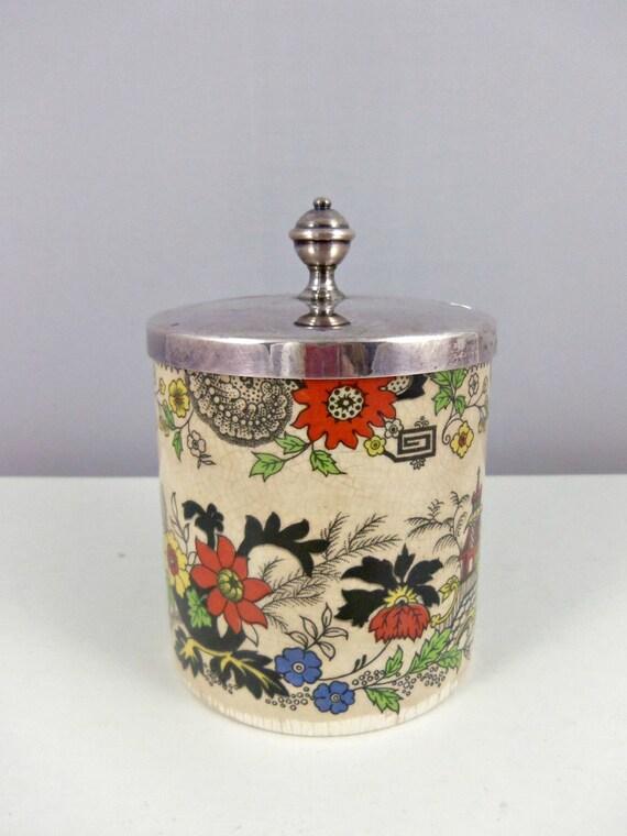 Sugar Jar by Royal Norfolk Staffordshire England