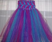 Made to Order Lattice Top Tutu Dress