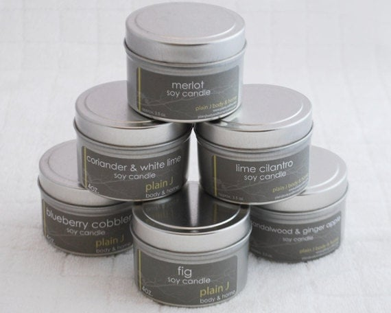 Soy Candle Tins - Wholesale - qty: 50