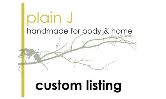 RESERVED Custom Listing for Kelly L