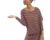Sample sale  - READY FOR SHIPPING - Bordeaux tunic - size M