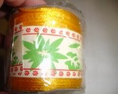 Yellow Satin Cord 50 Yards