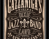 Dixieland Band Jazz New Orleans Poster