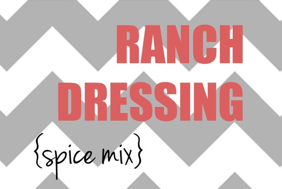 Ranch Dressing Spice Mix