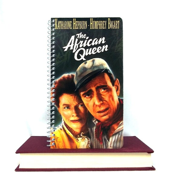 The African Queen Notebook Recycled Journal Notepad