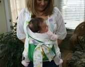 Embroidered mei tai baby carrier