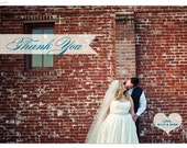 ROBYN /// 75 Custom Wedding Photo Thank You Cards w/ Envelopes
