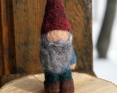 "Needle felted Gnome- ""Garden Gnome"""