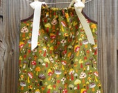 Lil Shroom Pillowcase Dress Size 18-24 months