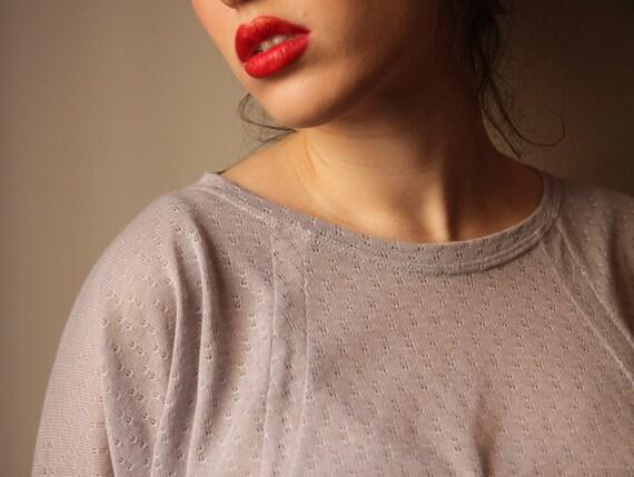 Gray Women Blouse