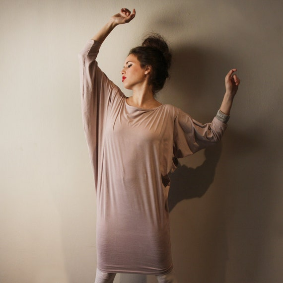 Pink Women Dress, Lavender Tunic