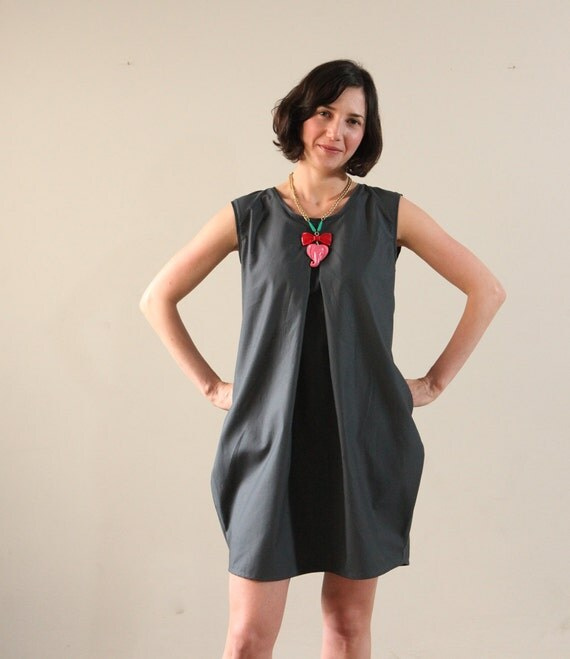 Black Oversize Women Dress