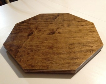 Wood Lazy Susan Octagon - Birch faced plywood