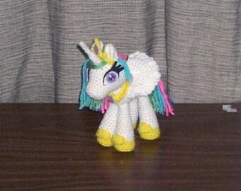 PATTERN: Ponyta Crochet Plush by blackmoonflower on Etsy