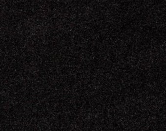 54'' Wide Upholstery Velvet - Black Fabric By The Yard 1 Yard